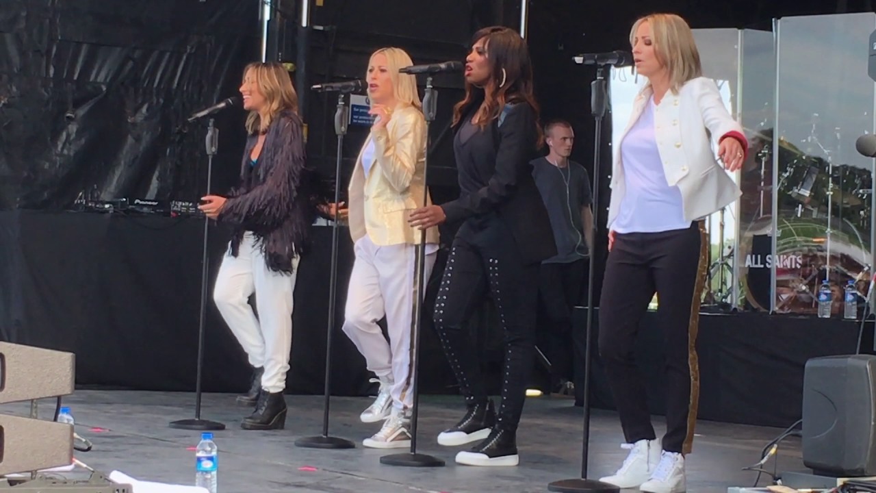 all saints black coffee live 2017 - youtube