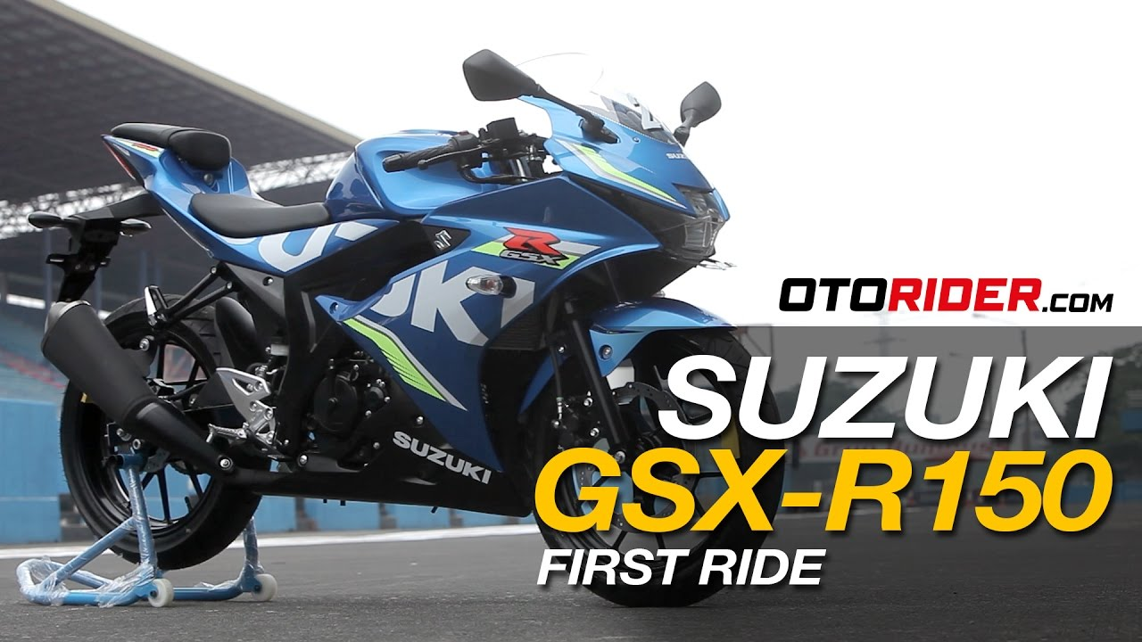 Suzuki Gsx R150 2017 First Ride Review Indonesia Otorider Youtube