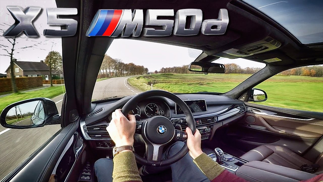 BMW X5 2017 M50d Test Drive Interior Sound