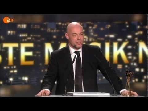 UNHEILIG - GOLDENE KAMERA 2013 - 2.2.2013 - Beste Musik National - Der Graf