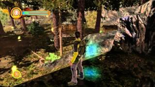 Играю в MAN vs WILD the Game Xbox 360