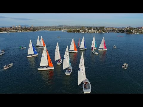 2017 Baldwin Cup Team Race - Friday - Race 24 - CoCYC vs SYC