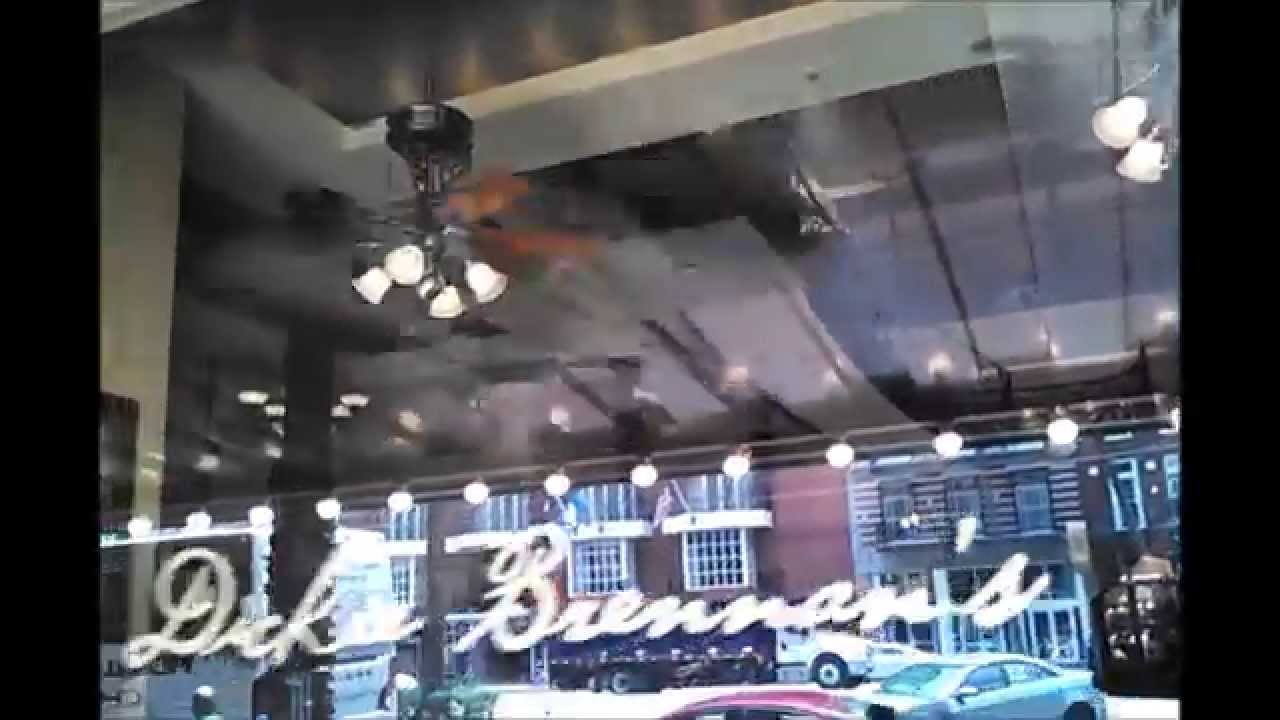 Casablanca new orleans ceiling fans in a cafe youtube casablanca new orleans ceiling fans in a cafe aloadofball Image collections