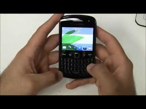 Official Blackberry Curve 9360 Unboxing & Turn On (1080p HD)