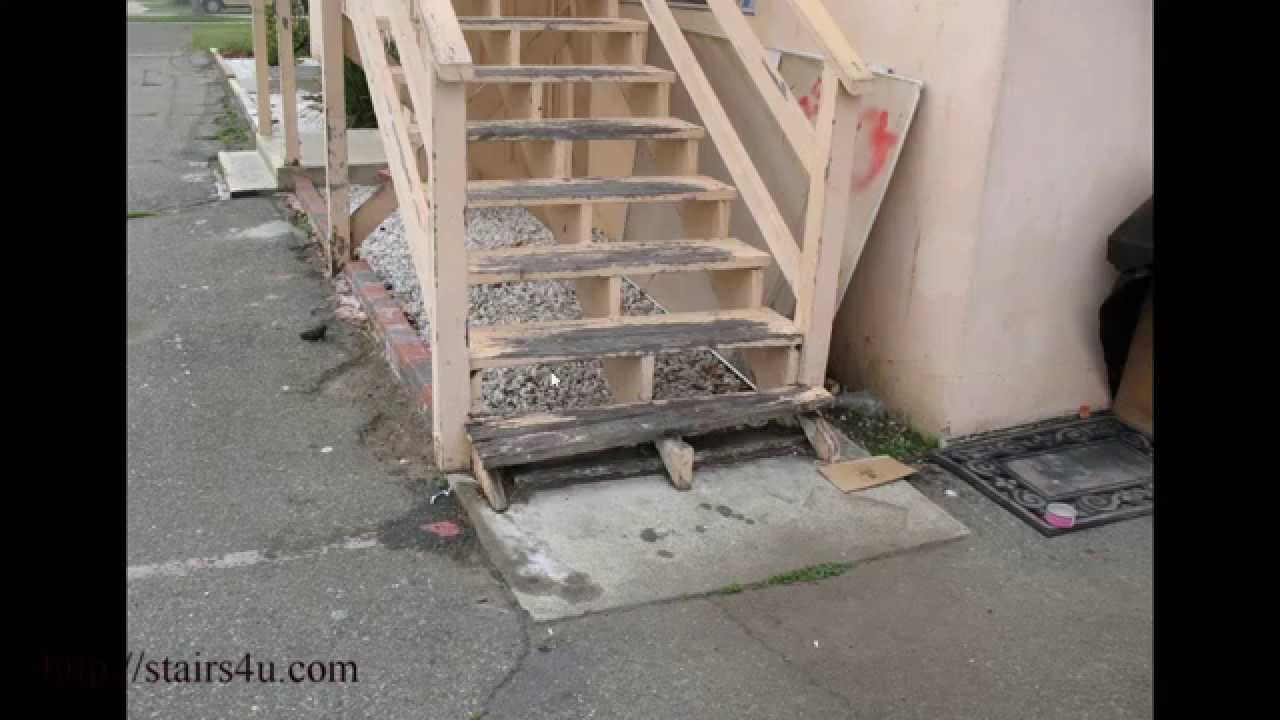 Watch This Video Before Building Exterior Wood Stairs – Consumer ...