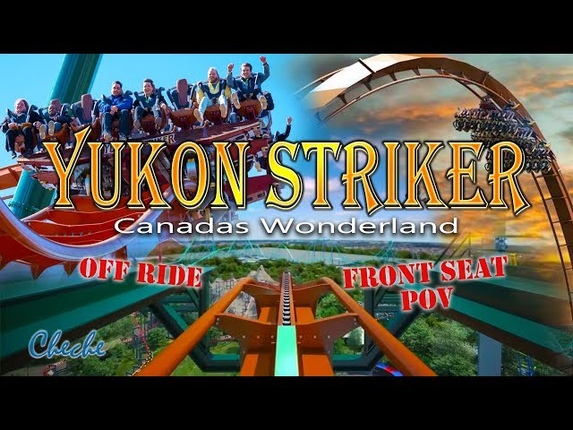 Ride Yukon Striker POV Front Seat View | 360 POV Yukon Striker on ride 360