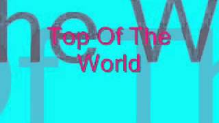 Top Of The World - The Cataracs ft. Dev
