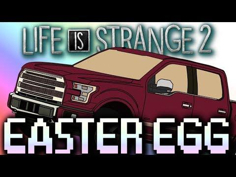 Life is Strange 2 Easter Egg: Color Changing Car Cameo