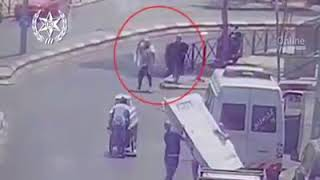 police video of attack at Shar Shechem