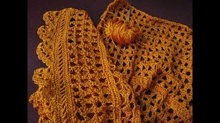 Crochet sweater design step by step / how to make crochet design step by step
