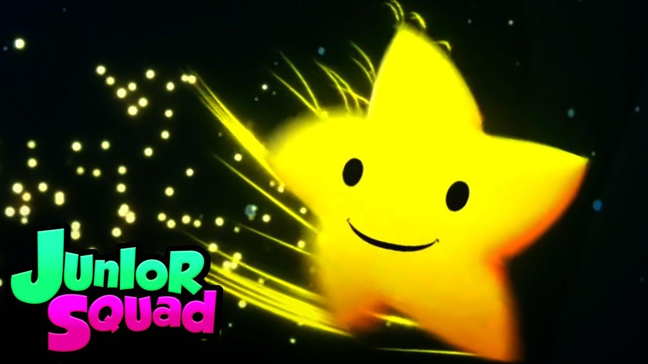 Pırıltı pırıltı küçük yıldız   Tekerlemeler   Çocuklar için eğitim   Junior Squad Türkçe   Animasyon