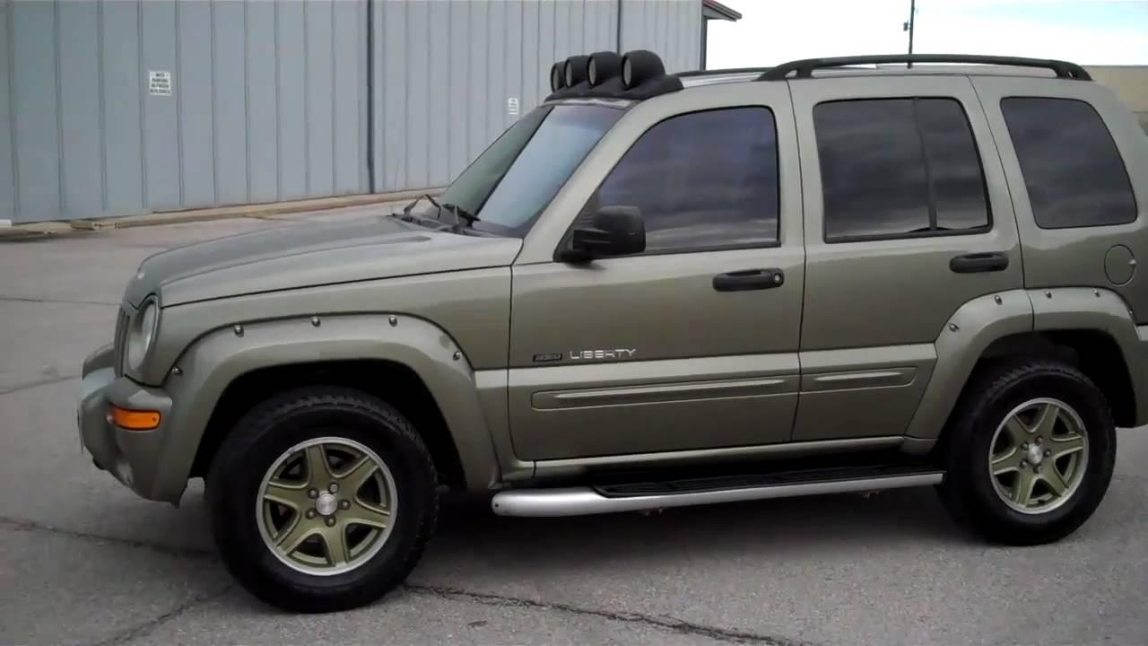 2002 jeep liberty renegade presentedm g motor sports tulsa