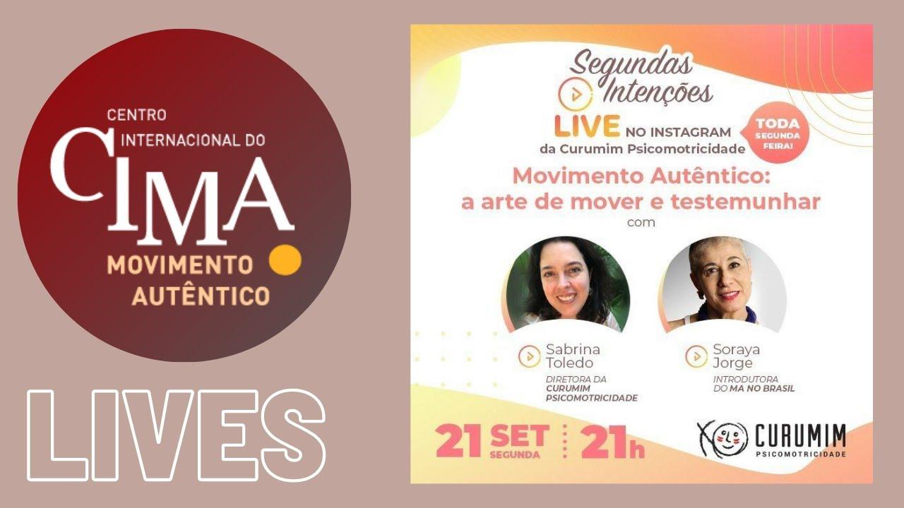 Soraya Jorge fala em live no Curumim Psicomotricidade