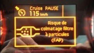 """Message """"Risque de colmatage du filtre à particules"""" sur Citroën C4 (Solution)"""