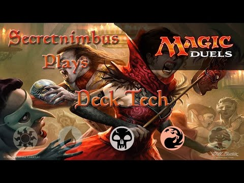 Let's Play Magic Duels - Deck Tech - B/R Madness Vampires