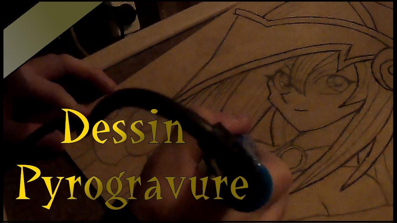 Dessindrawing Pyrogravure Dark Magician Girl Fr Youtube
