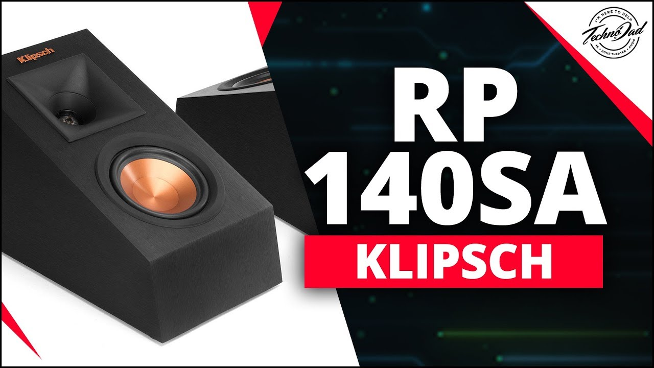 Klipsch RP-140SA | Unboxing Dolby Atmos