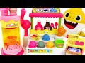 Baby Shark Syrup Ice cream shop play~! Let's make Color Changing Ice cream! | PinkyPopTOY