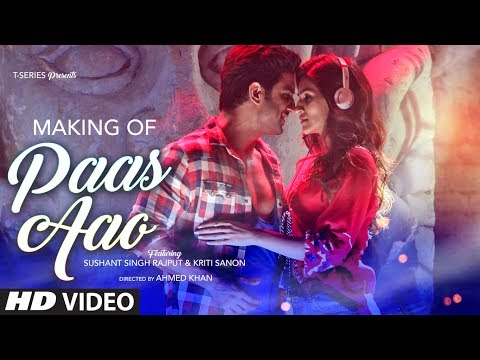 Thumbnail: Making of Paas Aao Song | Sushant Singh Rajput & Kriti Sanon