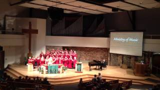 """The Greatest Gift is Love"" - Chancel Choir, First United Methodist Church, Madison, WI"