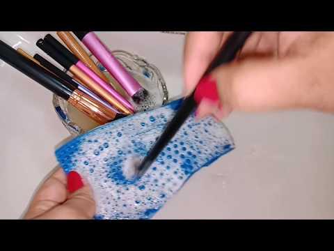 मेकअप ब्रश कैसे साफ करें How To Clean Makeup Brush