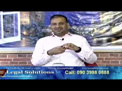Legal Solutions with Harjap Singh Bhangal 26-04-19