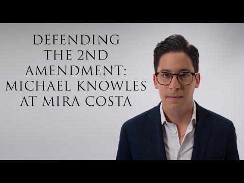 [FULL SPEECH] Defending the 2nd Amendment: Michael Knowles at Mira Costa