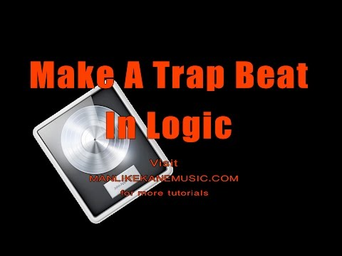 How to make a simple Trap Beat in Logic Pro X 2018