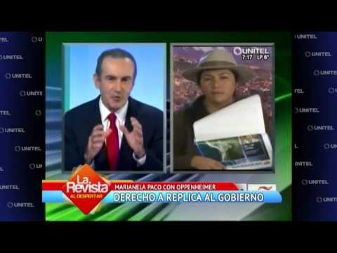 VIDEO: MARIANELA PACO FUE ENTREVISTADA POR OPPENHEIMER