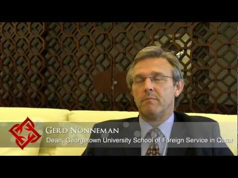 Executive Focus: Gerd Nonneman, Dean, Georgetown University School of Foreign Service in Qatar