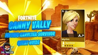 Fortnite STW Comment obtenir Mythic Karolina survivant Guide de la carte