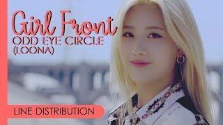 ODD EYE CIRCLE (LOONA) - GIRL FRONT | Line Distribution
