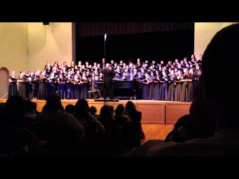 2015 CCS High School Honor Choir - It's A Grand Night for Singing