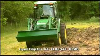 honeycombes john deere 3020 series compact utility tractors