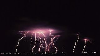2H-Thunderstorm, Heavy Rain and Wind • Ambient Sounds for Relaxation, Deep Sleep - White Noise
