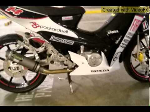 Honda-wave100 W/ Racingboy Accessories