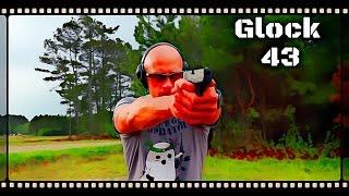 G43 Single Stack Glock 9mm Pistol: First Shots (HD)