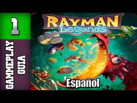 "Rayman Legends - Guia en Español - Parte 1 ""Problemas diminutos: Nivel 1"" 100%"