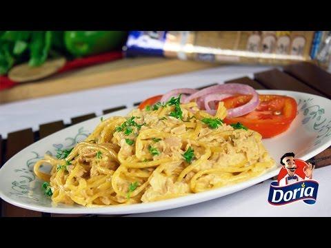 spaghetti-integral-doria-con-salsa-de-atun