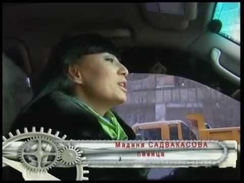 Мадина Садвакасова за рулем «Toyota Land Cruiser»