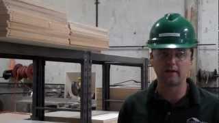 Green Modular Building - Cabinets