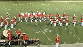 United States Marine Corps Drum and Bugle Corps at the HEB