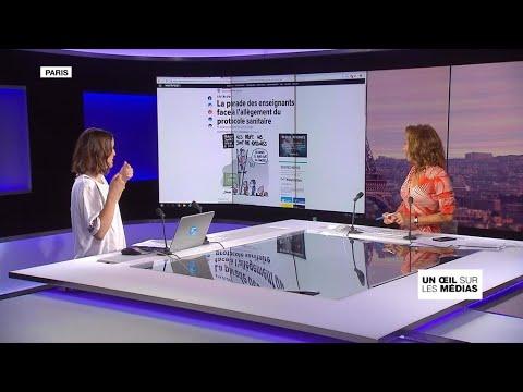 France : Divisions Autour Du Protocole Sanitaire Allégé Dans Les écoles