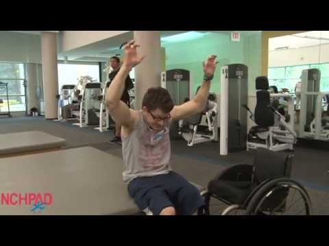 I FIT Tips: Wheelchair Burpees