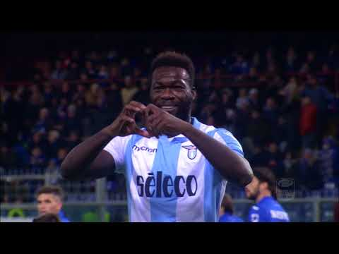 Il gol di Caicedo - Sampdoria - Lazio 1 - 2 - Giornata 15 - Serie A TIM 2017/18