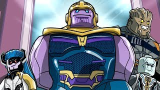 Avengers Infinity War Movie Inspired Level! LEGO Marvel Superheroes 2! 100% Complete!