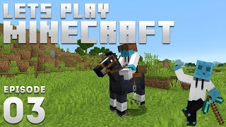 iJevin Plays Minecraft - Ep. 3: BEST FRIENDS! (1.14 Minecraft Let's Play)