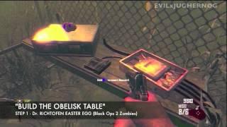 *full Tutorial* Build The Obelisk / Dr. Maxis & Dr. Richtofen Easter Egg *tower Of Babble*