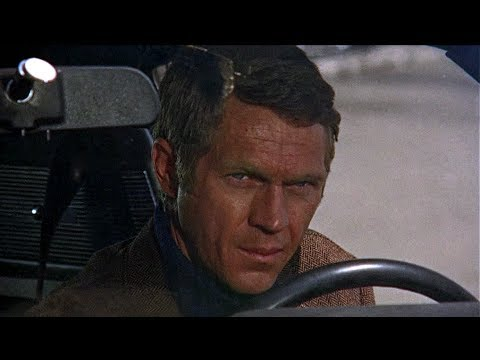 bullitt chase scene steve mcqueen youtube. Black Bedroom Furniture Sets. Home Design Ideas