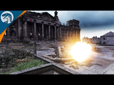 BERLIN: LAST DEFENSE LINE | Brave Soldat Mod | Men of War: Assault Squad 2 Gameplay